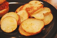 oven fried potatoes - easy
