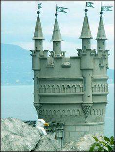 Swallow's Nest, Crimea Ukraine
