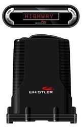 Our Whistler Pro-3600 is an exclusive high-performance antenna with integrated laser detection. The Red Tri-Directional Display shows alerts received digital signal strength & engaged modes in text format. The display can be mounted horizontally, upside down or vertically. The Laser Atlanta™ Stealth Mode technology and Discreet Tri-Colored LED & Security Alert Mode provides user customizable choice of color when alerting. Our Pro-3600 is pack with features such as Ka Max Mode, Radar Signature...