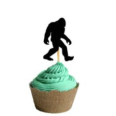 Big Foot has Arrived Party Food Picks 12 pack by carnivalpapier, $8.00