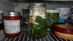 Mason Jar Smoothies - put a stash of something like these in the freezer for Joe's lunches