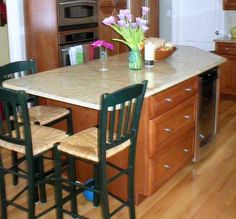 kitchen islands with seating for 4 | Single level kitchen island with seating area | Style
