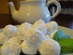 Russian Tea Cookies - Russian home cooking recipes
