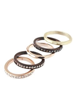 Love everything about stackable rings