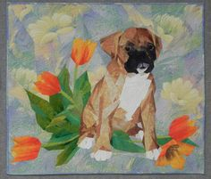 "This adorable quilt--""Who, Me?"" by Ruth Powers--is part of this year's Celebrate Spring! exhibit, making its debut in Cincinnati."