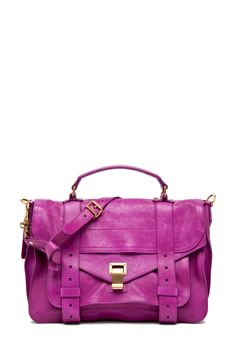 PROENZA SCHOULER radiant orchid, fashion, purs, style, color, ps1 medium, proenza schouler, bags, schouler ps1