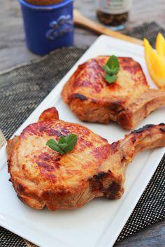 Asian-Brined Pork Chops
