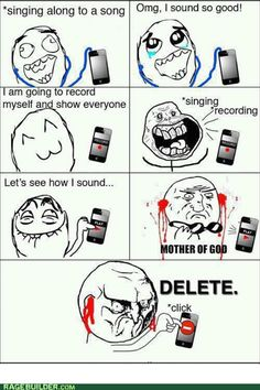 rage comics - Facing Reality- A little too much of a dose of reality for me!