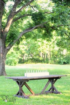 DIY Farm House Table