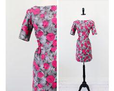 vintage 50s 60s wiggle dress