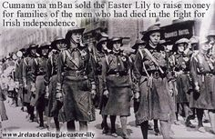 Cumann na mBan first sold the Easter Lily