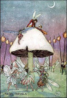Fairy revels by Florence Mary Anderson.
