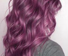 aveda purple hair color | Brown underneath is so pretty, but purple or somethings fun too.