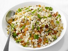 Israeli Couscous with Raisins