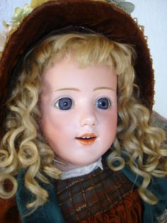 Heubach Smiling Girl #5689 - Very Rare, Amazing Quality! FINAL Price Reduction!