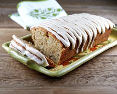 Autumn apple spelt pound cake... I love recipes with spelt!