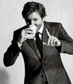 Bradley Cooper. BRADLEY COOPER <3 --- I'd wear this dress on a coffee date with this guy ;)  #AquaRocks