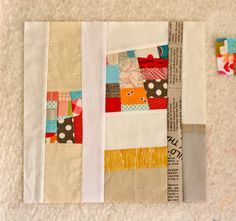 Amber's travelling quilts beginning