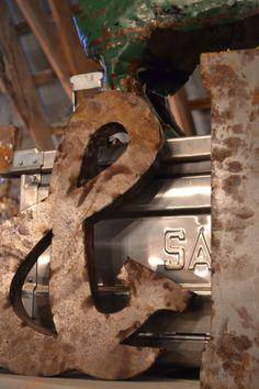 3D metal symbols at www.chartreuseandco.com/tagsale