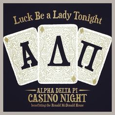 Love this Casino Night philanthropy event from Zeta Sigma chapter at the College of Charleston!