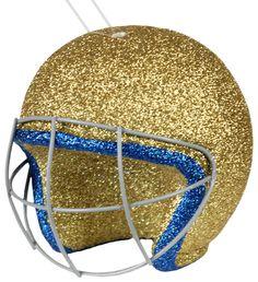 """4"""" Football helmet ornament - UCLA #helmet #football #ucla"""