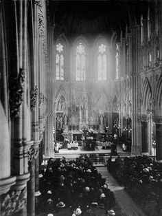 A Requiem Mass for the Titanic victims took place in Cobh Cathedral on April 22nd 1912. Frank's Uncle Robert presided.