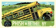 Phish in Bethel, NY