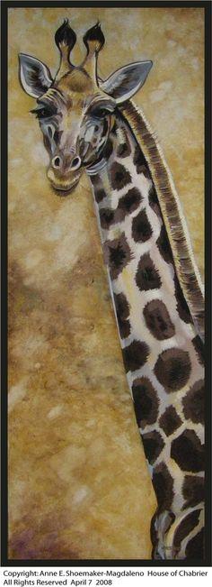 Giraffe Gold by *HouseofChabrier on deviantART
