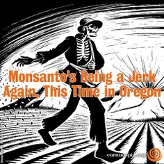 A potential GMO ban in Oregon's Jackson County has drawn a slew of corporate money into the state, another sign that international chemical and GMO manufacturers will dump massive bucks into an attempt to restrict local and state government's and communities' right to govern themselves. More here: http://www.cornucopia.org/2014/04/monsantos-jerk-time-oregon #stopmonsanto #Oregon #GMOs