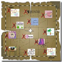 MNE Crafts: Crochet Scavenger Hunt - The Game, The Rules & The Prizes