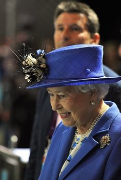 Queen Elizabeth At the Olympic Events -