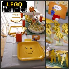 The possibilities are endless with this Lego Party theme.