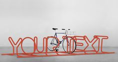 What would you write?  Custom #Bike Stand | http://custombikestand.com/