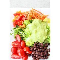 Southwest Chop Salad with Avocado Lime Dressing!  Recipe: www.thelocalvegan.com  #vegan #veganeats #veganfood #bestofvegan #vegetarian #vega...
