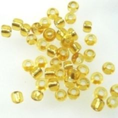 Gold Jewellery Gold Glass Seed Beads - 15g - Spoil Me Silly Jewellery