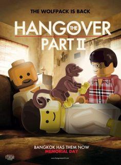Lego Hangover Part 2 Poster