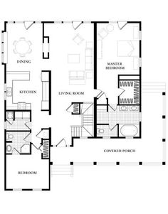 I heart floor plans commercial and residential buildings for Country living magazine house plans