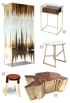 how to creat brass furniture
