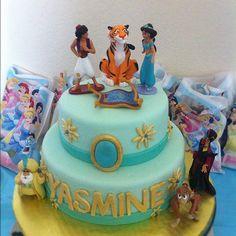 Princess Jasmine cake.