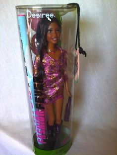 HTF 2004 AA FASHION FEVER DESIREE AFRICAN AMERICAN BARBIE DOLL NEW NRFB