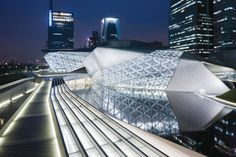 Guangzhou Opera House (China) - Zaha Hadid
