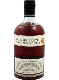 Leopold Bros. Georgia Peach Whiskey  Not quite bourbon.  I like peaches, I like whiskey, not sure if I'd like this.