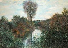 Claude Monet - Small Arm of the Seine at Mousseaux, 1878
