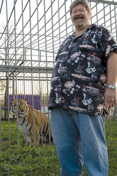 Michael Sandlin, who has kept Tony the Tiger prisoner at his gas station for over a decade.