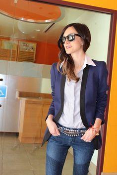 #I love a good blazer and jeans combo.  blazer coat #2dayslook #jean style #blazerfashioncoat  www.2dayslook.com