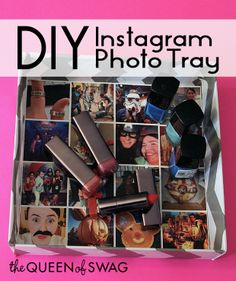 CUTE DIY Instagram Photo Tray!