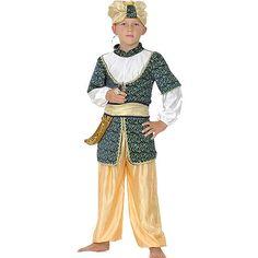 Disfraz verde de Sultán #infantil #disfraces #carnaval