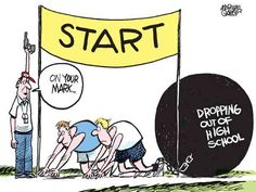 Great cartoon to share in your school. Make students EXPLAIN it...