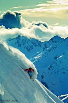 Tim Durtschi in Cordova, Alaska by Jonathan Selkowitz #Skiing -- Find articles on adventure travel, outdoor pursuits, and extreme sports at http://adventurebods.com