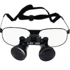 Surgeon Style Magnifying Glass Loupe with Eyeglasses